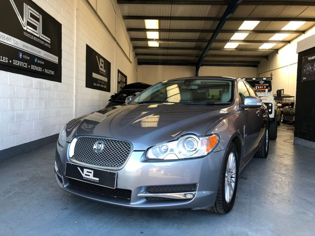 2008 58 JAGUAR XF 2.7 LUXURY V6 4d AUTO 204 BHP