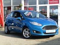 USED 2016 66 FORD FIESTA 1.0 ZETEC 3d 99 BHP STUNNING, 1 FORMER OWNER, Still Under Ford Warranty, FORD FIESTA 1.0 ZETEC TURBO, 3 DOOR HATCH. Finished in SPECIAL EDITION BLUE METALIC with contrasting grey SPORTS CLOTH interior. Possibly the lowest mileage 66 plate Fiesta Zetec Turbo on sale today. This Fiesta is a small car that you can really enjoy driving. Economical and cheap to run, stylish to look at and some great features. ZERO Road Tax with DAB radio, B/Tooth, Alloys Air Con and much more.