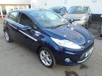 2011 FORD FIESTA 1.2 ZETEC 5d 81 BHP £5995.00