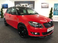 USED 2011 11 SKODA FABIA 1.2 MONTE CARLO 12V 5d 68 BHP F/S/H, IMMACULATE IN & OUT!!