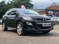 USED 2009 59 MAZDA CX-7 2.2 SPORT TECH D 5d 173 BHP REVERSING CAMERA +  FULL YEAR MOT +  BLUETOOTH +  FULL LEATHER TRIM +