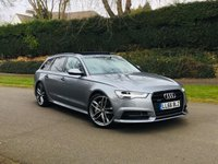 USED 2016 66 AUDI A6 AVANT 3.0 BiTDI V6 QUATTRO S LINE BLACK EDITION 320BHP. LOW MILES. 20K. FASH. AUDI WARRANTY 12/2019. BIG SPEC CAR. VAT QUAL.