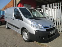 USED 2013 63 CITROEN DISPATCH 1000 L1 H1 1.6 HDi ENTERPRISE *AIR CON + BLUETOOTH* BLUETOOTH + 3 SEATS + AIR CONDITIONING