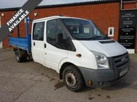 USED 2011 60 FORD TRANSIT 2.4 350 DRW 1d 100 BHP