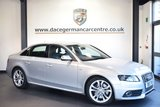 USED 2011 11 AUDI S4 3.0 S4 QUATTRO 4DR AUTO 329 BHP full service history *NO ADMIN FEES* FINISHED IN STUNNING ICE METALLIC SILVER WITH FULL BLACK LEATHER INTERIOR + FULL SERVICE HISTORY + SATELLITE NAVIGATION + HEATED SPORT SEATS + PARKING SENSORS + PADDLE SHIFT + ALLOY WHEELS