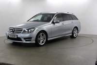USED 2013 13 MERCEDES-BENZ C CLASS 2.1 C200 CDI BLUEEFFICIENCY AMG SPORT 5d AUTO 135 BHP