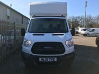 USED 2015 15 FORD TRANSIT LUTON 350 125PS LWB **FACTORY BODY**