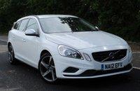 2012 VOLVO V60 1.6 DRIVE R-DESIGN S/S 5d 113 BHP £7495.00