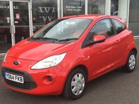 USED 2014 64 FORD KA 1.2 EDGE 3 DOOR 69 BHP