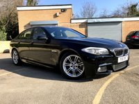 2011 BMW 5 SERIES 2.0 520D M SPORT 4d 181 BHP ONLY 76K 6 SERVICES, FULL LEATHER £9990.00
