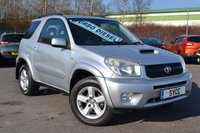 USED 2005 55 TOYOTA RAV4 2.0 XT-R D-4D 3d 114 BHP GENUINE 66,000 MILES ~ CAMBELT REPLACED AT 64926 MILES ~ 6 MONTHS WARRANTY