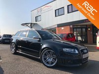 USED 2007 AUDI RS4 RS4 QUATTRO UPGRADED SEATS | TECHNOLOGY PACK | SATNAV | BLUETOOTH | BOSE SPEAKERS | STUNNING MANUAL V8