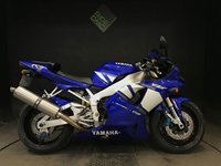 2001 YAMAHA R1 5JJ. 5169 MILES. OHLINS DAMPER. STD EXHAUST INCLUDED £6000.00