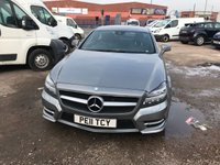 2011 MERCEDES-BENZ CLS CLASS 3.0 CLS350 CDI SPORT AMG 4d AUTO 265 BHP £14200.00