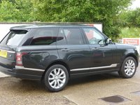 USED 2013 13 LAND ROVER RANGE ROVER 3.0 TDV6 VOGUE SE 5d AUTO 258 BHP ZERO ULEZ RATED,FACTORY FITTED REAR ENTERTAINMENT,FULL SERVICE HISTORY.