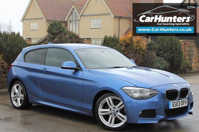 2013 13 BMW 1 SERIES 2.0 118D M SPORT 3d 141 BHP