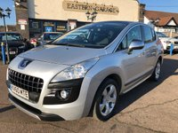 2010 PEUGEOT 3008 2.0 HDI EXCLUSIVE 5d 150 BHP £SOLD