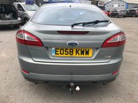 USED 2008 58 FORD MONDEO 2.2 TITANIUM X TDCI 5d 173 BHP WITH 89000 MILES IN METALLIC GREY APPROVED CARS ARE PLEASED TO OFFER THIS FORD MONDEO 2.2 TITANIUM X TDCI 5d 173 WITH 89000 MILES IN METALLIC GREY WITH FULL SERVICE HISTORY AT 6K, 14K, 24K, 37K, 50K, 64K, 76K, AND 89K VERY ECONOMICAL CAR AT VERY SENSIBLE PRICE.