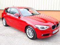 2013 BMW 1 SERIES 1.6 116I SE 3d 135 BHP £SOLD