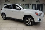 USED 2015 15 MITSUBISHI ASX 1.6 3 5d 115 BHP FINISHED IN STUNNING WHITE WITH BLACK CLOTH SEATS + FULL SERVICE HISTORY + BLUETOOTH + 17 INCH ALLOYS + CRUISE CONTROL + REAR PARKING SENSORS + MULTIFUNCTION STEERING WHEEL...