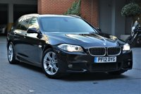 2012 BMW 5 SERIES 2.0 520D M SPORT TOURING 5d 181 BHP