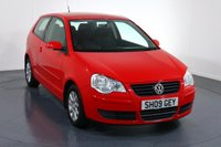 USED 2009 09 VOLKSWAGEN POLO 1.4 SE 3d 79 BHP