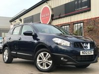 USED 2012 12 NISSAN QASHQAI 1.5 dCi Acenta 2WD 5dr NEW TIMING BELT-DISCS & BRAKES