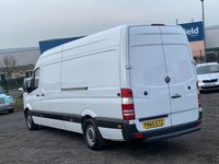 USED 2015 65 MERCEDES-BENZ SPRINTER 2.1 313 CDI LWB FACELIFT HIGH ROOF LWB, FACELIFT, ONE OWNER,  DEALER HISTORY,PLY LINED