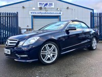 2011 MERCEDES-BENZ E-CLASS 1.8 E200 CGI BLUEEFFICIENCY SPORT ED125 2d AUTO 184 BHP £13995.00