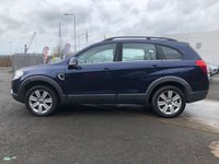 USED 2009 09 CHEVROLET CAPTIVA 2.0 LTX VCDI 5d AUTO 148 BHP LEATHER TRIM + PARKING AID + 18 INCH ALLOYS + SERVICE RECORD + BLUETOOTH +  FULL YEAR MOT +