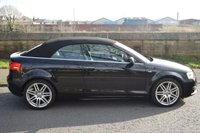 USED 2012 61 AUDI A3 2.0 TDI S LINE 2d CONVERTIBLE  138 BHP SERVICE HISTORY, SPORT LEATHER, ELECTRIC SOFT TOP, 6 SPEED MANUAL, RADIO CD PLAYER RECENT SERVICE + MOT
