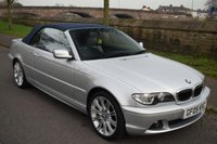 USED 2005 05 BMW 3 SERIES 2.2 320CI SE 2d AUTO CONVERTIBLE 168 BHP SERVICE HISTORY, ELECTRIC SOFT TOP, SPORTS LEATHER, ELECTRIC MEMORY SEATS, RADIO CD PLAYER