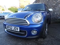 USED 2012 62 MINI HATCH COOPER 1.6 COOPER D LONDON 2012 EDITION 3d 110 BHP