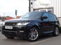 USED 2014 64 LAND ROVER RANGE ROVER SPORT 4.4 AUTOBIOGRAPHY DYNAMIC 5d AUTO 339 BHP Full Service History With New Mot