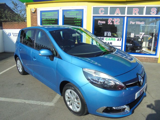 USED 2014 14 RENAULT SCENIC 1.5 DYNAMIQUE TOMTOM ENERGY DCI S/S 5d 110 BHP