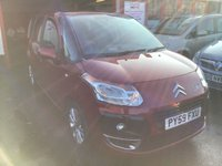 USED 2009 59 CITROEN C3 PICASSO 1.6 PICASSO VTR PLUS HDI 5d 90 BHP Great value diesel mpv, 58000 miles. Superb. Low road tax.