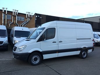 2013 MERCEDES-BENZ SPRINTER 2.1 313CDI MWB HIGH ROOF 130BHP MOBILE WORKSHOP VAN. FSH £7490.00