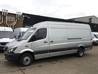 USED 2015 15 MERCEDES-BENZ SPRINTER 2.1 513 CDI LWB HIGH ROOF TWIN WHEEL. LOW 24K. RARE 5 TONNE TWIN WHEEL. 5 TONNE. LOW 25K MILES. FINANCE. RARE