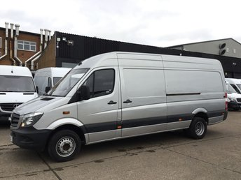2015 MERCEDES-BENZ SPRINTER 2.1 513 CDI LWB HIGH ROOF TWIN WHEEL. LOW 24K. RARE 5 TONNE £16990.00