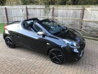USED 2010 60 RENAULT WIND ROADSTER 1.6 COLLECTION VVT 2d 133 BHP COLLECTION MODEL + LEATHER TRIM