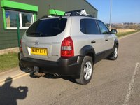 USED 2007 57 HYUNDAI TUCSON 2.0 GSI CRTD 4WD 5 DOOR 138 BHP ONLY 71,000 MILES WITH SERVICE HISTORY