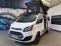 USED 2017 67 FORD TRANSIT CUSTOM 2.0 290 LR P/V 1d 104 BHP CAMERVAN CONVERSION WITH POP UP ROOF