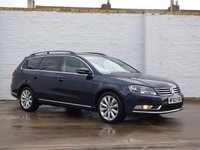 USED 2013 63 VOLKSWAGEN PASSAT 2.0 HIGHLINE TDI BLUEMOTION TECHNOLOGY DSG 5d 139 BHP Full Service History Bluetooth Buy Now, Pay Later Finance!