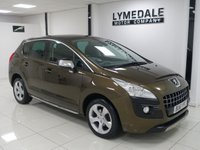 2011 PEUGEOT 3008 1.6 EXCLUSIVE HDI 5d AUTO 112 BHP £5790.00