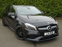 USED 2016 16 MERCEDES-BENZ A45 2.0 A45 AMG 4MATIC 5d AUTO 360 BHP PREMIUM AERO KIT PAN ROOF PART EXCHANGE AVAILABLE / ALL CARDS / FINANCE AVAILABLE