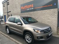 2013 VOLKSWAGEN TIGUAN 2.0 SE TDI BLUEMOTION TECHNOLOGY 4MOTION 5d 138 BHP £8695.00