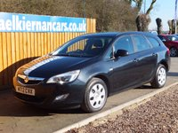 USED 2012 12 VAUXHALL ASTRA 1.6 EXCLUSIV 5d AUTO 113 BHP AUTOMATIC, FSH X 4 STAMPS