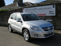 USED 2010 10 VOLKSWAGEN TIGUAN 2.0 S TDI 4MOTION 5d 138 BHP FOUR WHEEL DRIVE