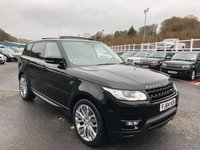 USED 2014 64 LAND ROVER RANGE ROVER SPORT 3.0 SDV6 HSE DYNAMIC 5d AUTO 288 BHP Power deployable side steps, opening panoramic sunroof, 21 inch alloys ++