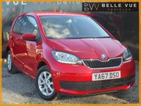 USED 2017 67 SKODA CITIGO 1.0 SE MPI 3d 59 BHP *ONE OWNER, BLUETOOTH, ALLOYS!*